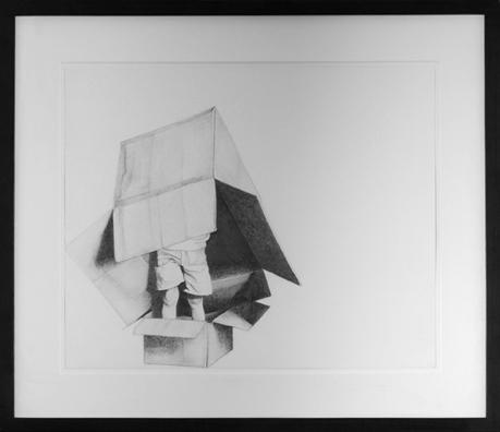 """ללא כותרת, 2004, גרפיט על נייר, 52 x 43 ס""""מ"""