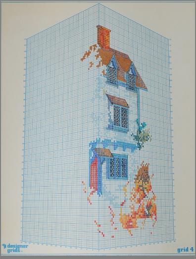 """ללא כותרת, 2008, טושים על נייר מילימטרי, 56 x 70 ס""""מ"""