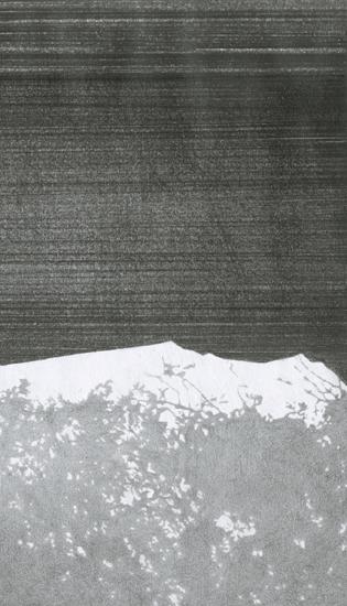 """ללא כותרת, 2010, גרפיט על נייר, 37 x 44 ס""""מ"""