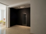 untitled, 2012-2014, wood, nylon string, paint, light, installation view