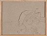 Untitled, 2019, kinetic sand, wood drawer, 23 x 33 x 5 cm