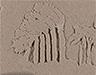 Irma, 2018, kinetic sand, 10 x 15 cm