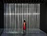 Untitled, 2021, nylon strings, MDF, paint, 400 x 550 cm