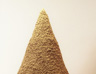 Sandcastle, 2001, sand, glue, polyester, 200 x 150 x 150 cm (Merkaz Habama Gallery, Ganei Tikva)